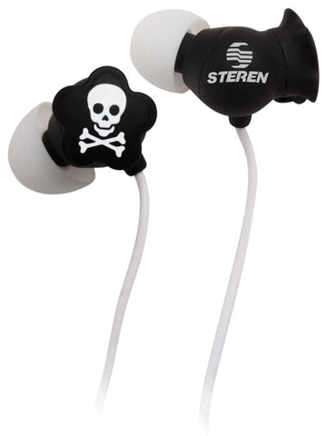 Earphone with Skull Design (AUD-243)