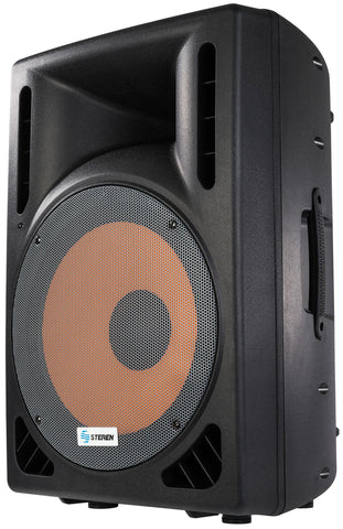 "Professional amplified subwoofer 12"", 2500 Watts PMPO and Bluetooth (BAF-1287BT)"