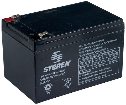 12 Volt 12 Ah Lead-Acid Rechargeable Sealed Battery (BR-1212)