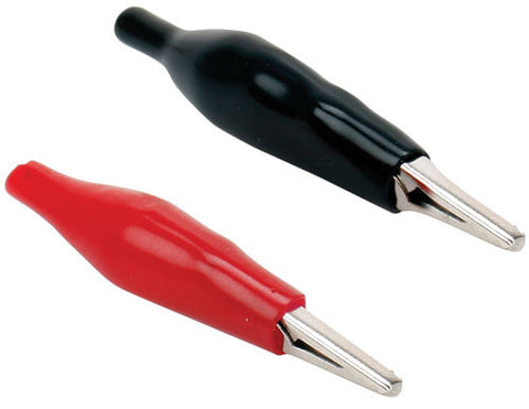 3 Amp, 1.0 X 0.3 in (2.7 X 1 cm) alligator clip - Black or Red (CAI-101)