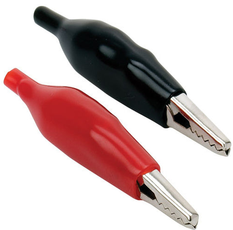 5 Amp, 1.6 x  0.3 in (4.3 x 0.9 cm) alligator clip - Black or Red (CAI-102)