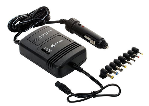 Voltage converter 2 A, automotive power adapter with 8 connectors and compartment (ELI-820)