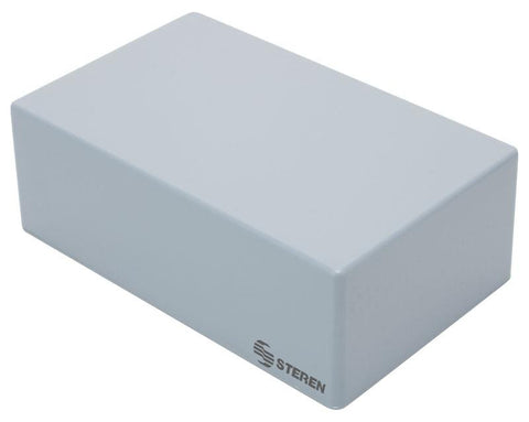 Gray plastic box with lid for electronic projects - 7 x 4.3 x 2.5 in (18 x 11 x 6.5 cm) (GP-04)