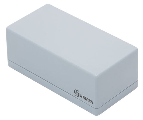 Gray Plastic Box with Lid for Electronic Projects - 8.7 x 5.5 x 3.6 in (22.3 x 14 x 9.2 cm) (GP-14)