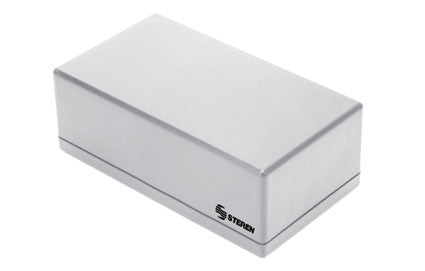 Grey plastic box with lid for electronic projects - 5.3 x 2.9 x 1.9 in (13.5 x 7.5 x 4.9 cm) (GP-11)
