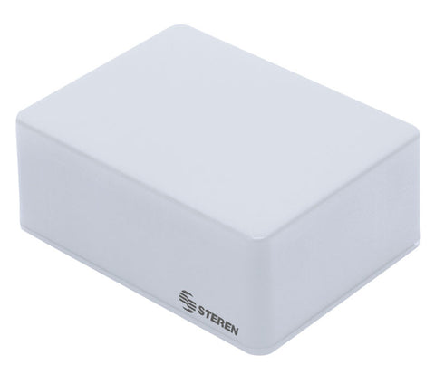4 x 3 x 1.6 in (10.2 x 7.7 x 4.1 cm) Grey plastic box with lid for electronic projects (GP-17)