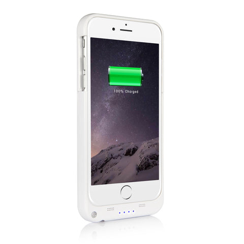 SingTech iPhoneå¨ 6 Rechargeable Protective Battery Case 3200mAh - Black, White or Gold (SING-4215)
