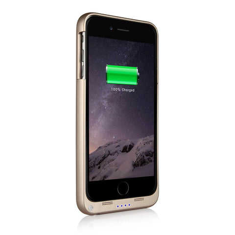 SingTech iPhoneå¨ 6 Plus Rechargeable Protective Battery Case 4800mAh - Black, White or Gold (SING-4222)