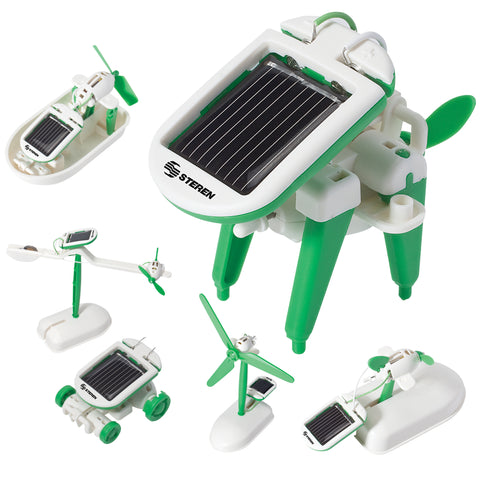 6 in 1 Solar Educational Kit (K-555)