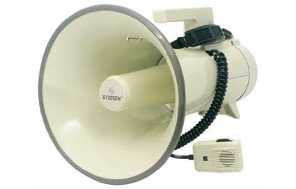 35 Watt Professional Megaphone with Siren & Handheld Microphone (MG-600)