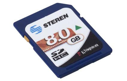 8 GB SD (Secure Digital) memory card (MSD-008)