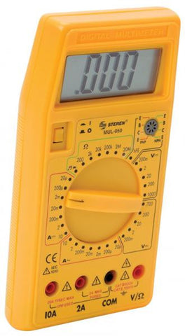 Digital multimeter with transistor tester (MUL-050)