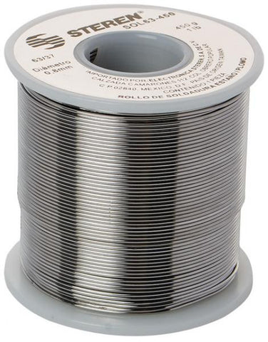 15.8 oz (450 g), 0.03 in (1 mm) of diameter, 60-tin / 40-lead solder spool (SOL60-450)