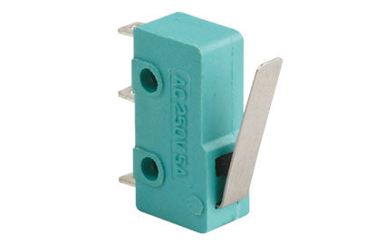 125 VAC, 5 A, micro switch with metal lever (SS0501A)
