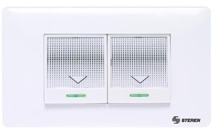 Double wireless wall switch (SWI-620)
