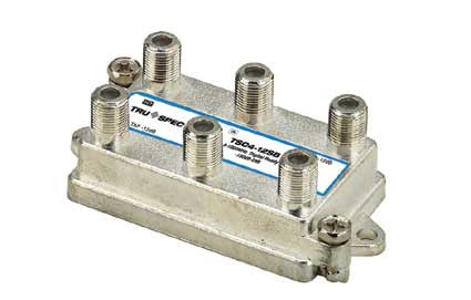 12 dB, 1 GHz, directional coupler with 4 Tap and welded box (TSC4-12SB)