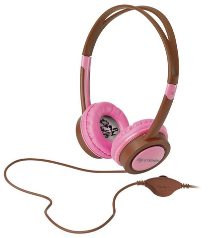 Youth Stereo Headset with Brown Headband (AUD-202CA)