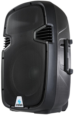 "12"" PMPO Professional Speaker with amplifier and SD memory reader -  2500 Watts (BAF-1285)"