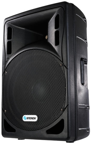 3200 Watt Powered Loudspeaker with 15 inch woofer, built in Amplifier, Crossover, SD Memory Card Reader, Flash Drive, Remote Control and Multicolor Lights (SMP-BAF-1595)