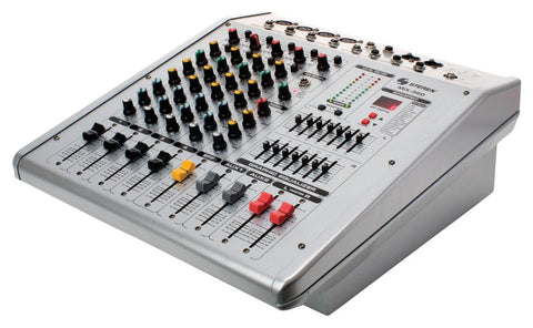 6-Channel 200 Watt RMS Powered Mixer with Equalizer (MIX-360)