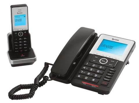 Dual System of Wired & Wireless Phones with DECT Technology (TEL-2490)