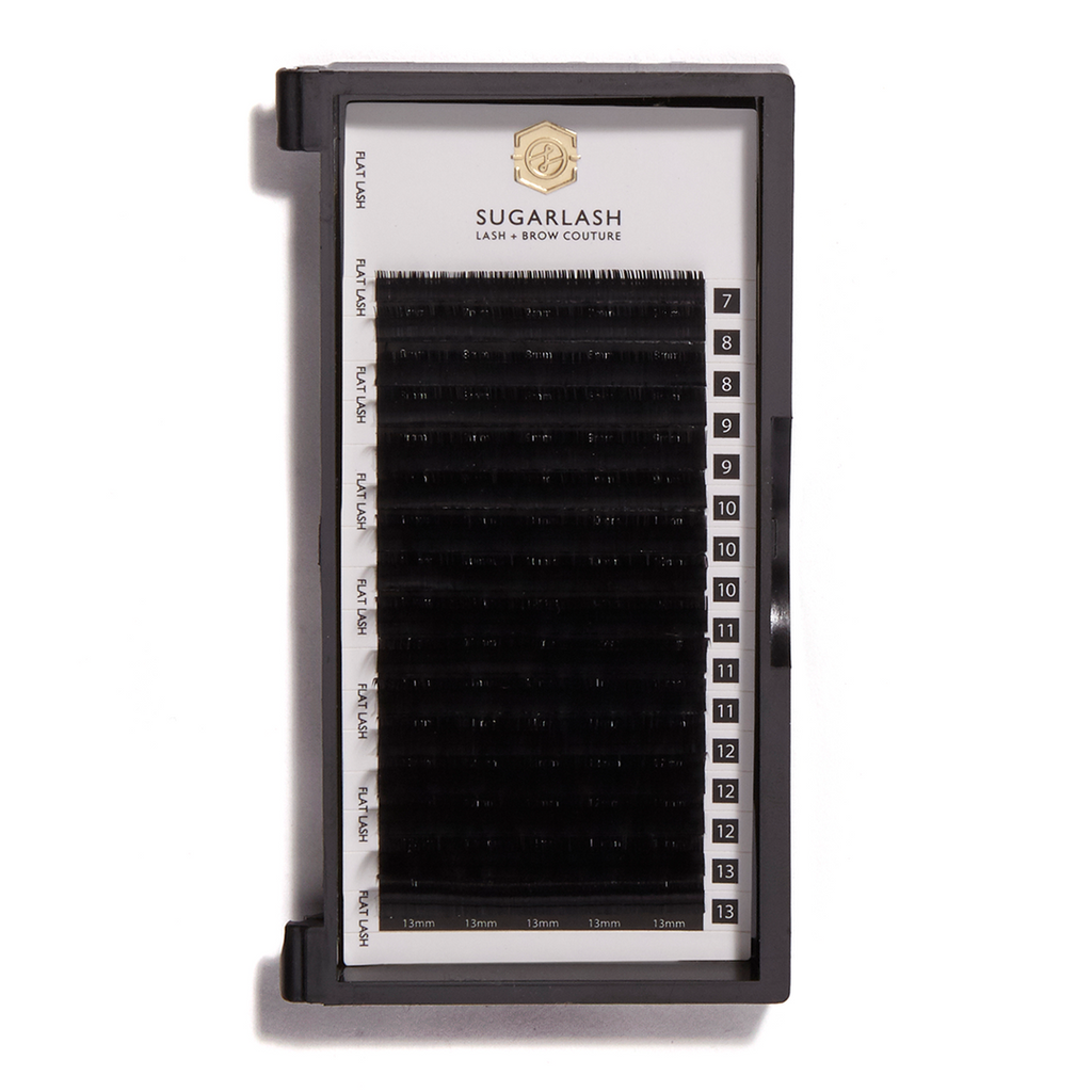 C-Curl Flat Lashes (single length)