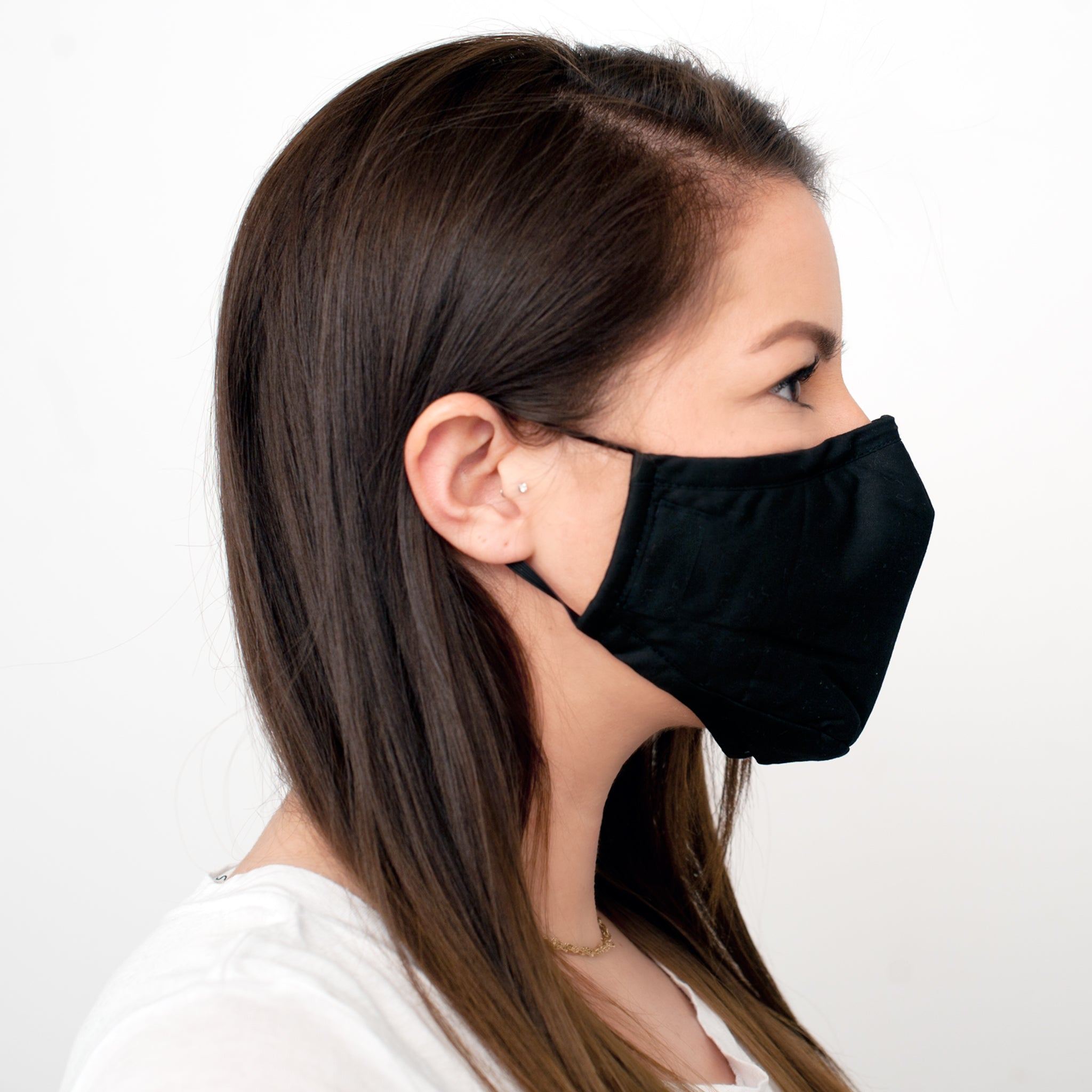 Activated Charcoal Face Mask with New Ventilation System