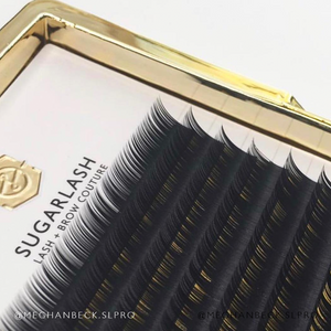 B-Curl Silk Lashes (Single Length Trays)