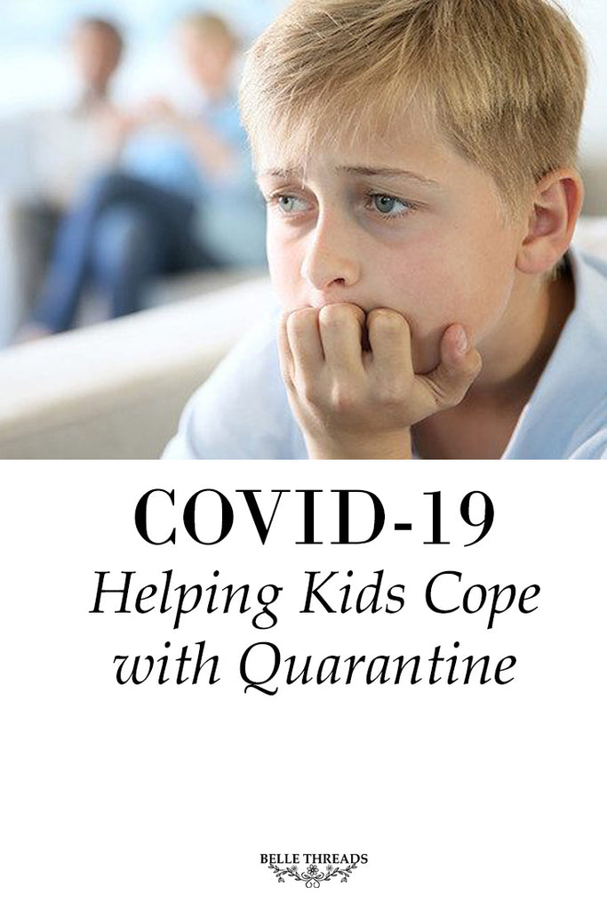 COVID-19: Helping kids cope with quarantine