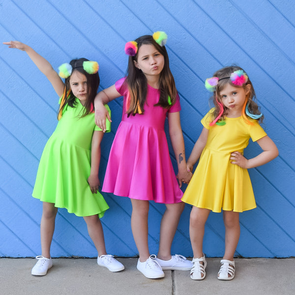 The Neon Dresses are here for Bold and Strong Girls