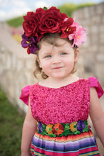 Load image into Gallery viewer, Pink Cinco de Mayo Fiesta Dress Mexican Fiesta Dress