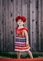 LIMITED Sparkle Romper Cinco de Mayo Fiesta Dress Mexican Fiesta Dress