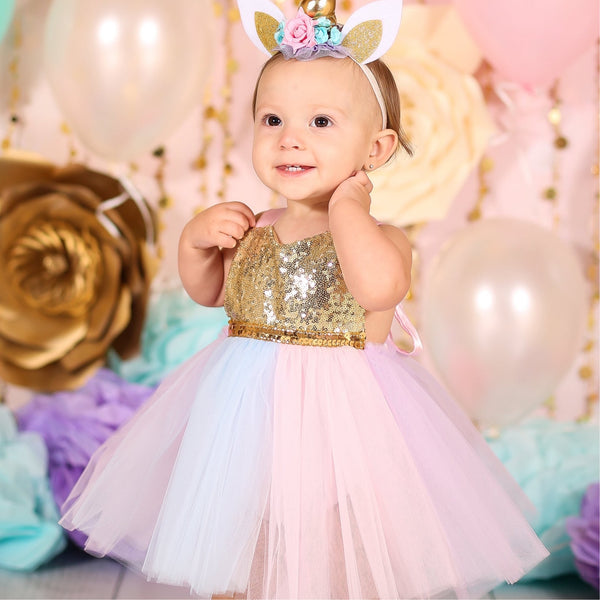 Unicorn Dress Girls •  Unicorn Tutu Dress • Unicorn tutu outfit •  unicorn costume for girls •  unicorn tutu dress for baby •  unicorn first birthday •