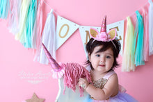 Load image into Gallery viewer, Unicorn Dress Girls •  Unicorn Tutu Dress • Unicorn tutu outfit •  unicorn costume for girls •  unicorn tutu dress for baby •  unicorn first birthday •