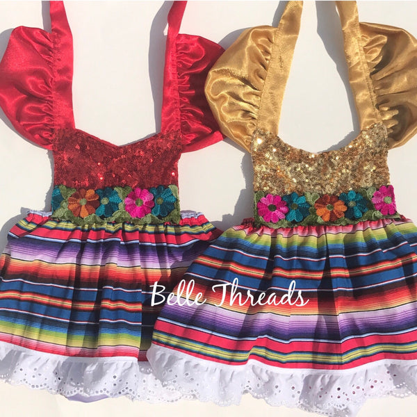 Sparkle Romper Cinco de Mayo Fiesta Dress