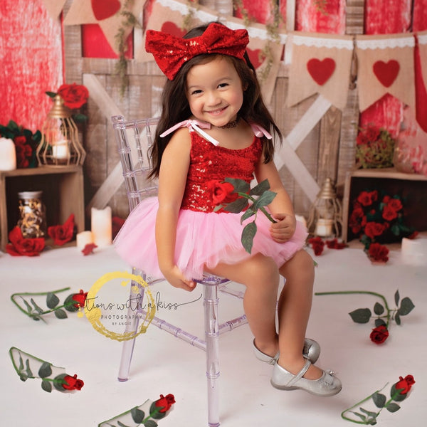 Valentine's Day Posh Little Tutu Dress