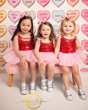 Load image into Gallery viewer, Valentine's Day Posh Little Tutu Dress