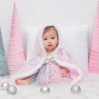 Winter Unicorn Tutu Dress with Cape