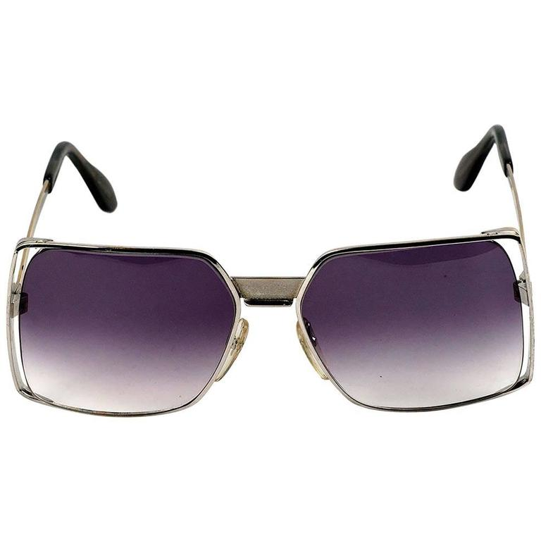 NEOSTYLE Silver Vintage Sunglasses
