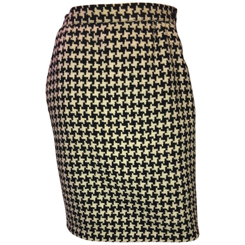 Saint Laurent 1970's Wool 2 Piece Skirt Set