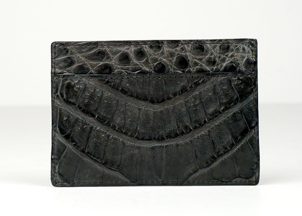 Santiago Gonzalez Crocodile Leather Wallet