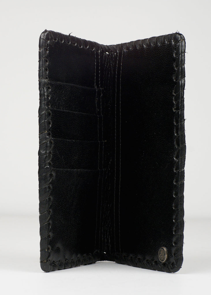 Stingray Black Artisan Wallet
