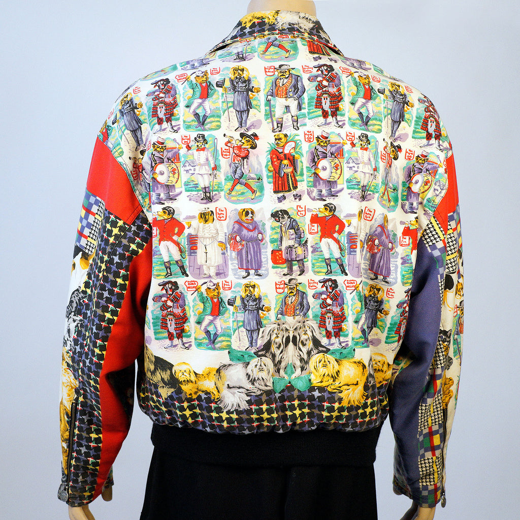 Versus Rare Printed Dog Jacket