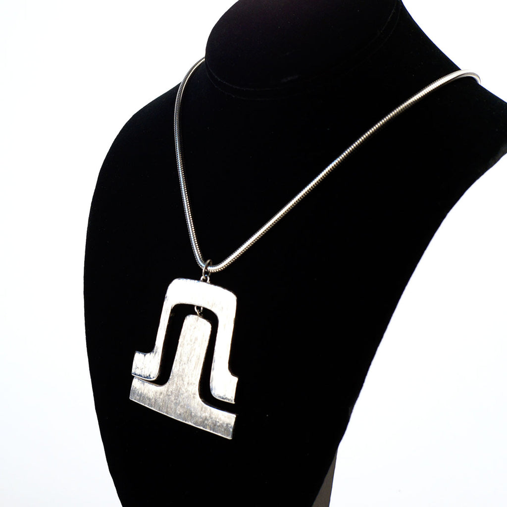 Pierre Cardin Silver Metal Necklace