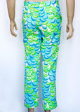 Lilly Pulitzer Citrus Pattern Golf Pants