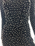 Lillie Rubin 1980's Pearl Encrusted Dress