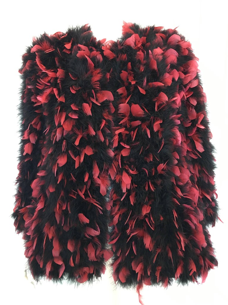 Anne Green 1960's Feather Coat