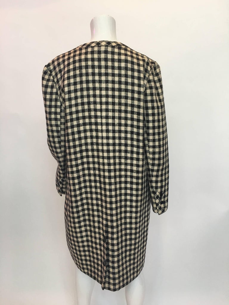 Valentino Boutique 1980's Wool Coat