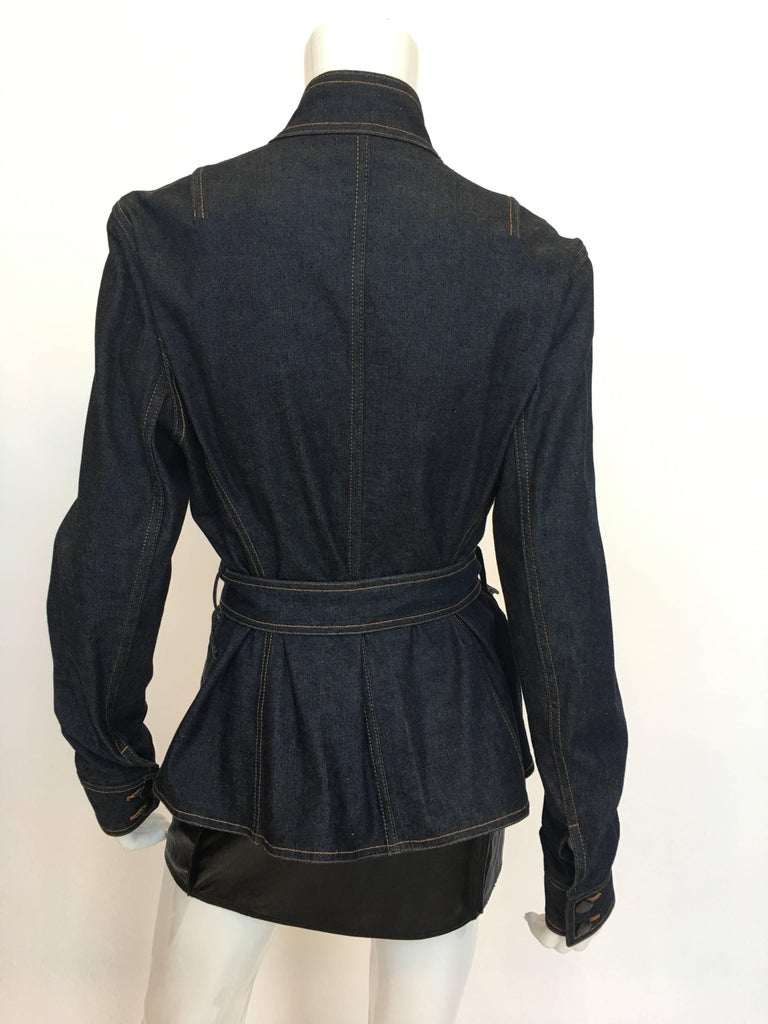 Yves Saint Laurent 1990's Denim Jacket