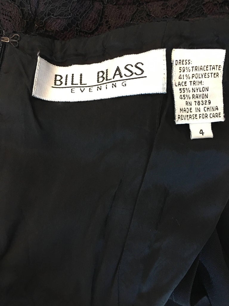 Bill Blass Black Cocktail Dress